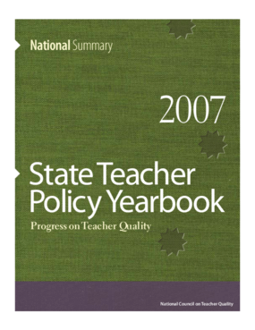 State Teacher Policy Yearbook