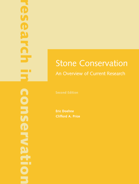 Stone Conservation: An Overview of Current Research