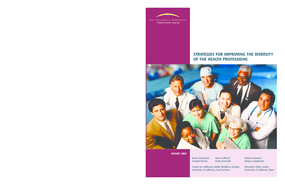 Strategies for Improving the Diversity of the Health Professions