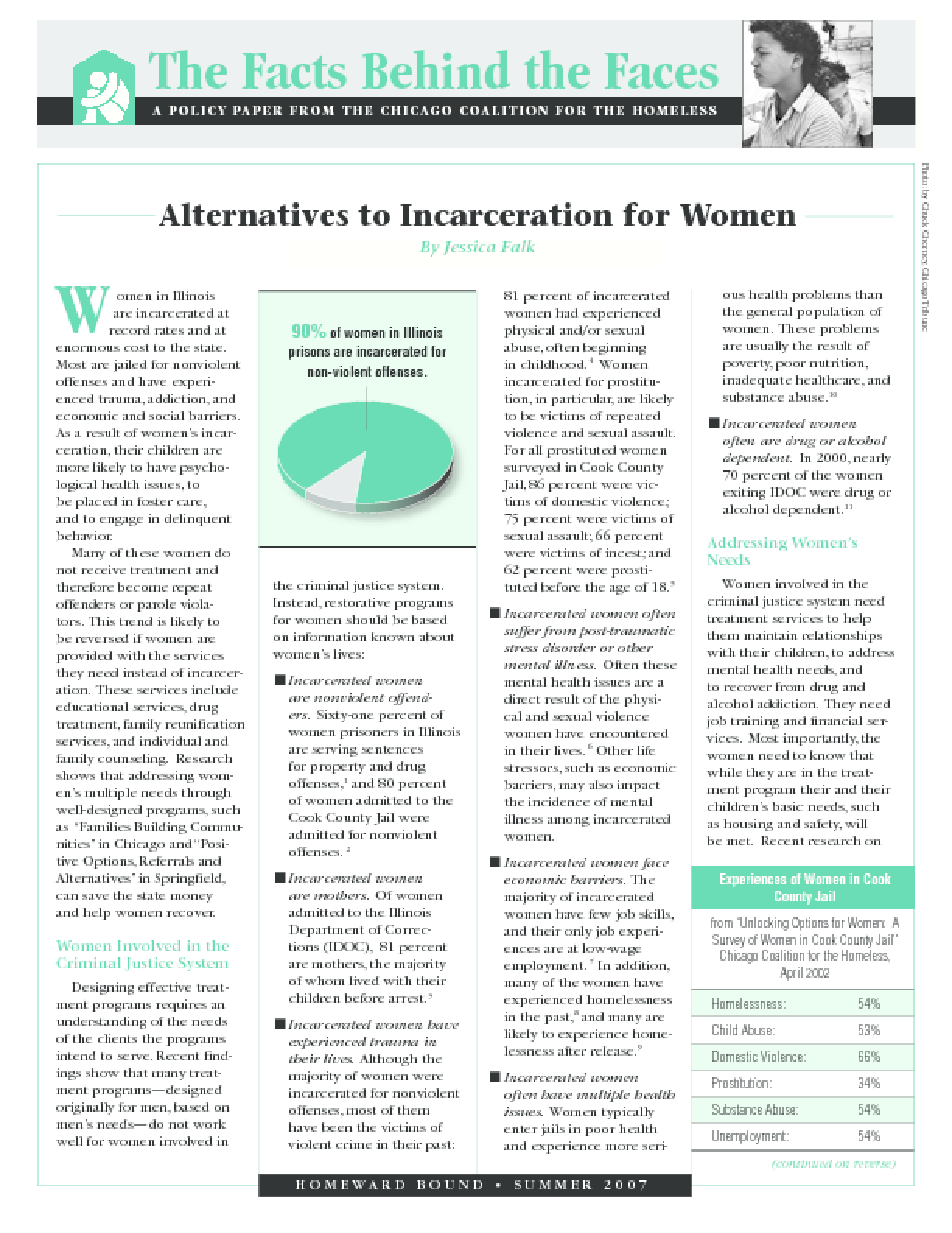 Alternatives to Incarceration for Women