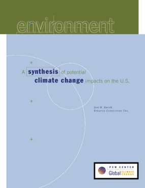 A Synthesis of Potential Climate Change Impacts on the United States