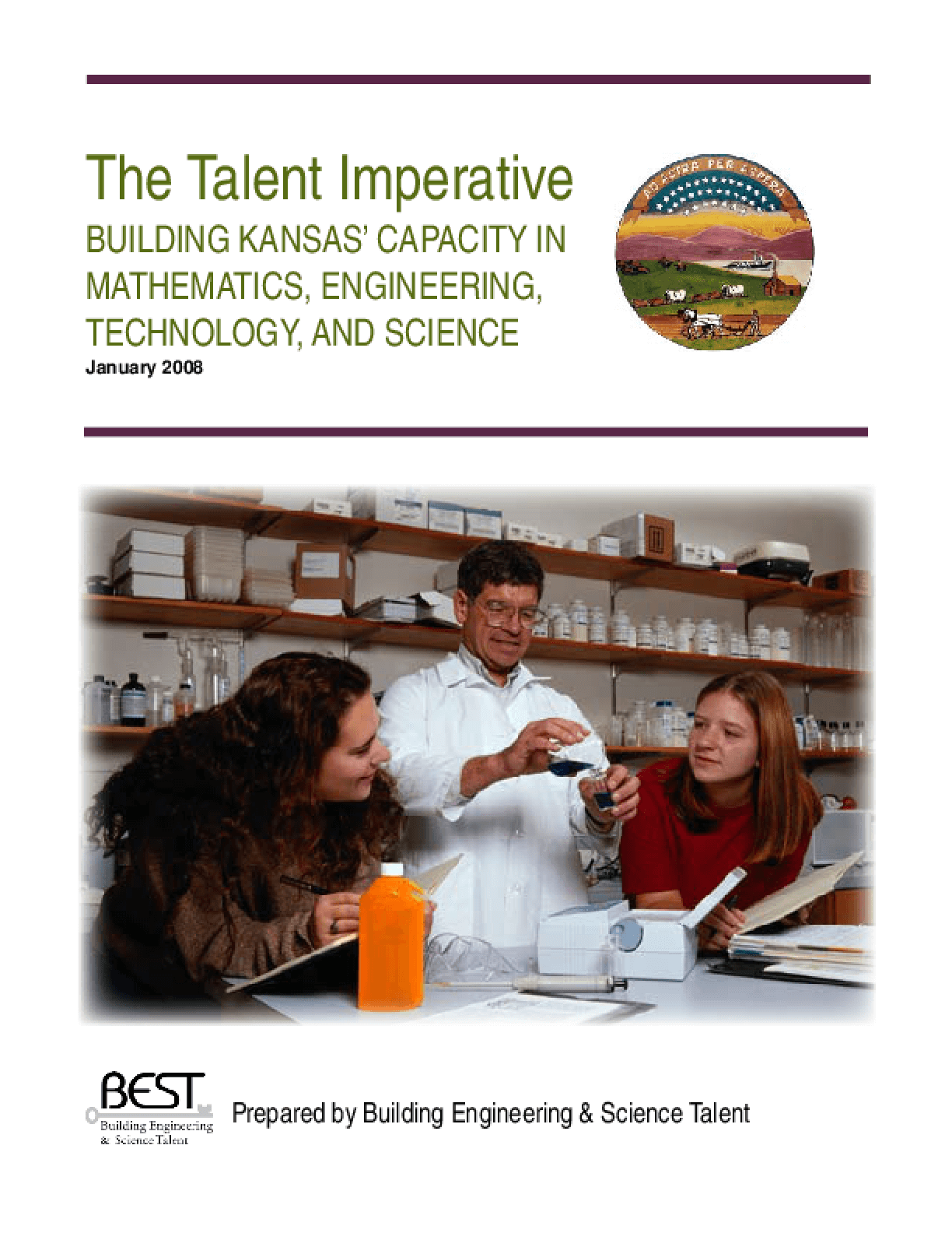 The Talent Imperative: Building Kansas' Capacity in Mathematics, Engineering, Technology, and Science