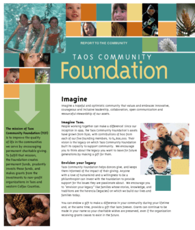 Taos Community Foundation - 2007 Annual Report