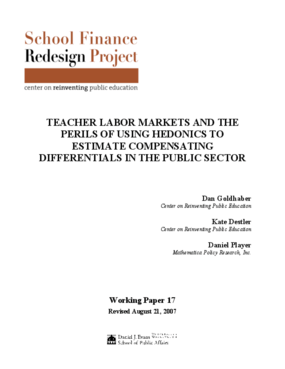 Teacher Labor Markets and the Perils of Using Hedonics to Estimate Compensating Differentials in the Public Sector