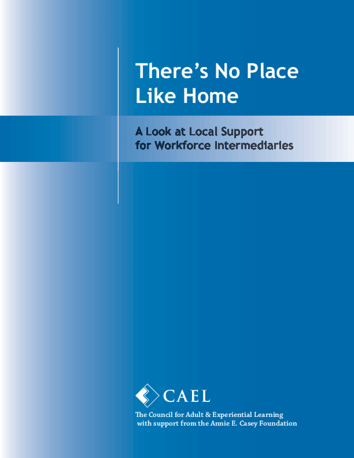 There's No Place Like Home: A Look at Local Support Models for Workforce Intermediaries