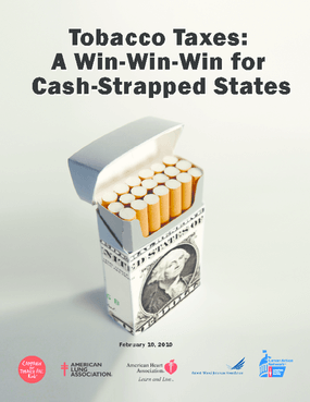 Tobacco Taxes: A Win-Win-Win for Cash-Strapped States