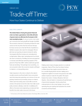 Trade-Off Time: How Four States Continue to Deliver