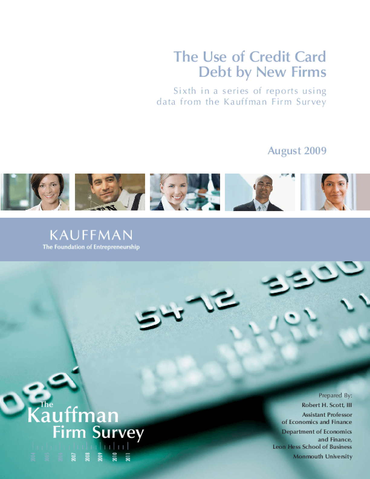 The Use of Credit Card Debt by New Firms