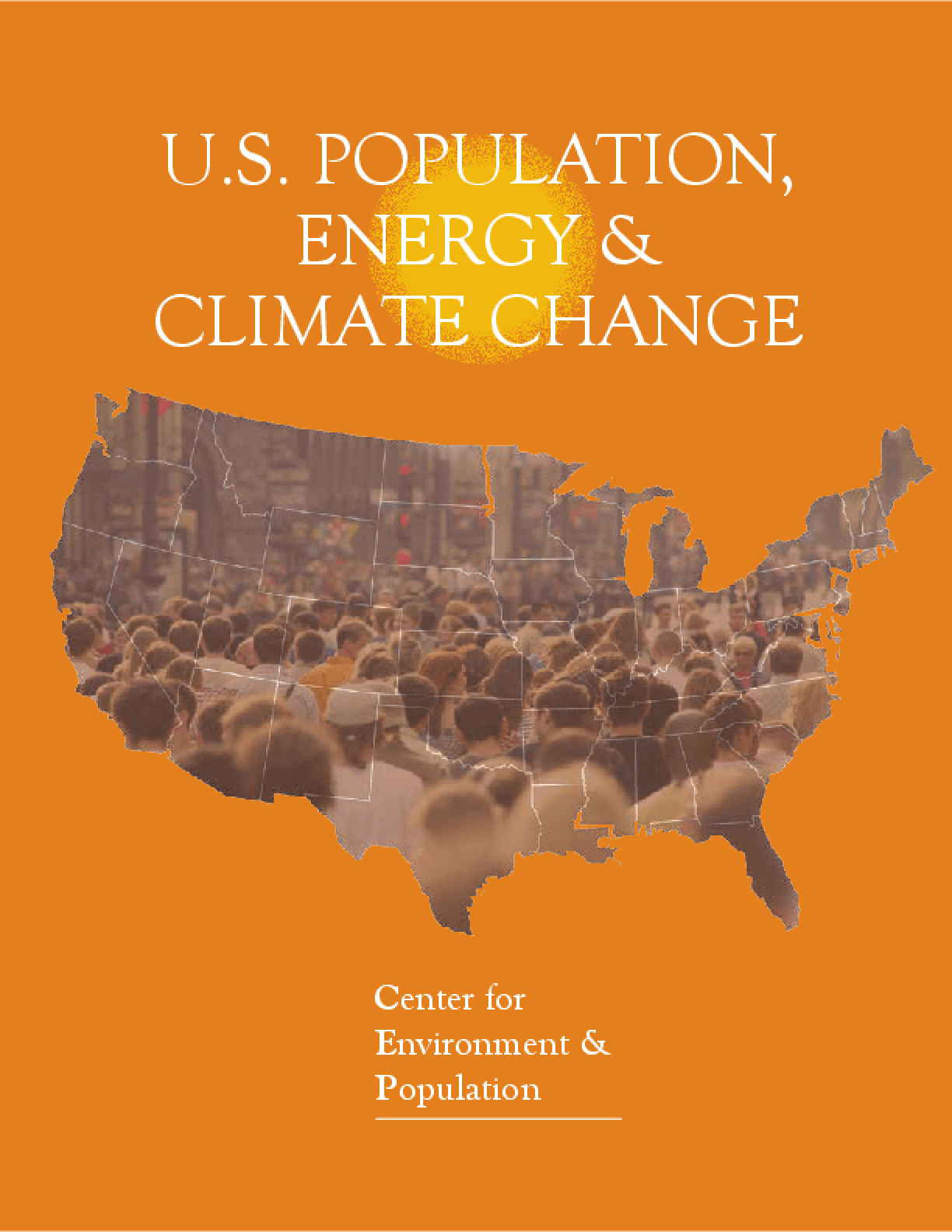 U.S. Population, Energy & Climate Change