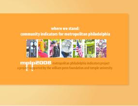 Where We Stand: Community Indicators for Metropolitan Philadelphia