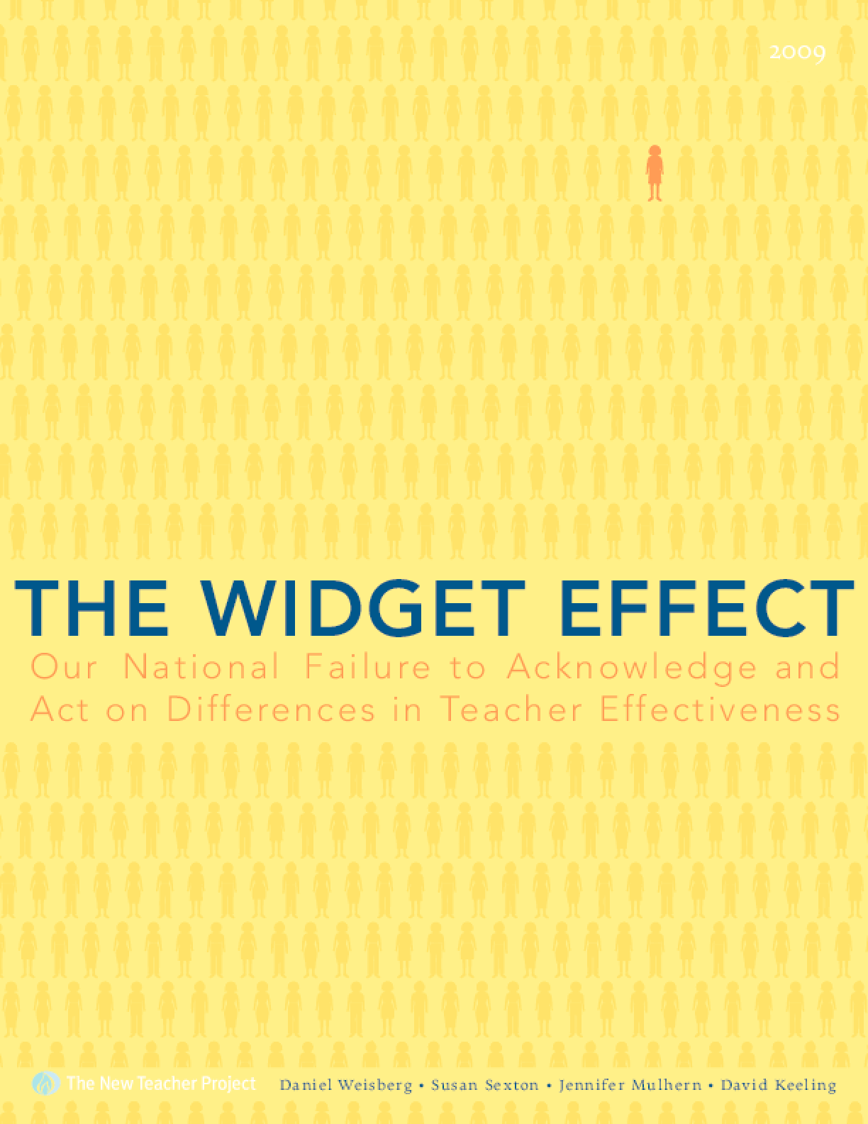 Widget Effect: Our National Failure to Acknowledge and Act on Differences in Teacher Effectiveness, The