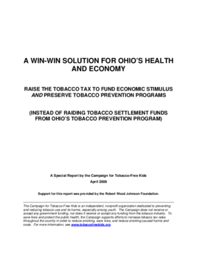 A Win-Win Solution for Ohio's Health and Economy
