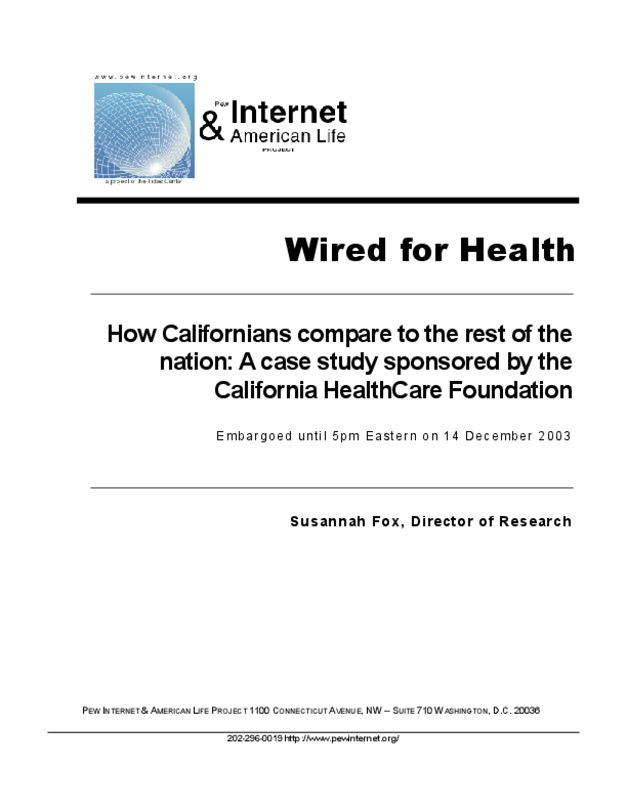 Wired for Health