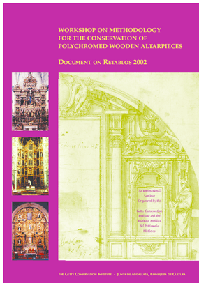 Workshop on Methodology for the Conservation of Polychromed Wooden Altarpieces