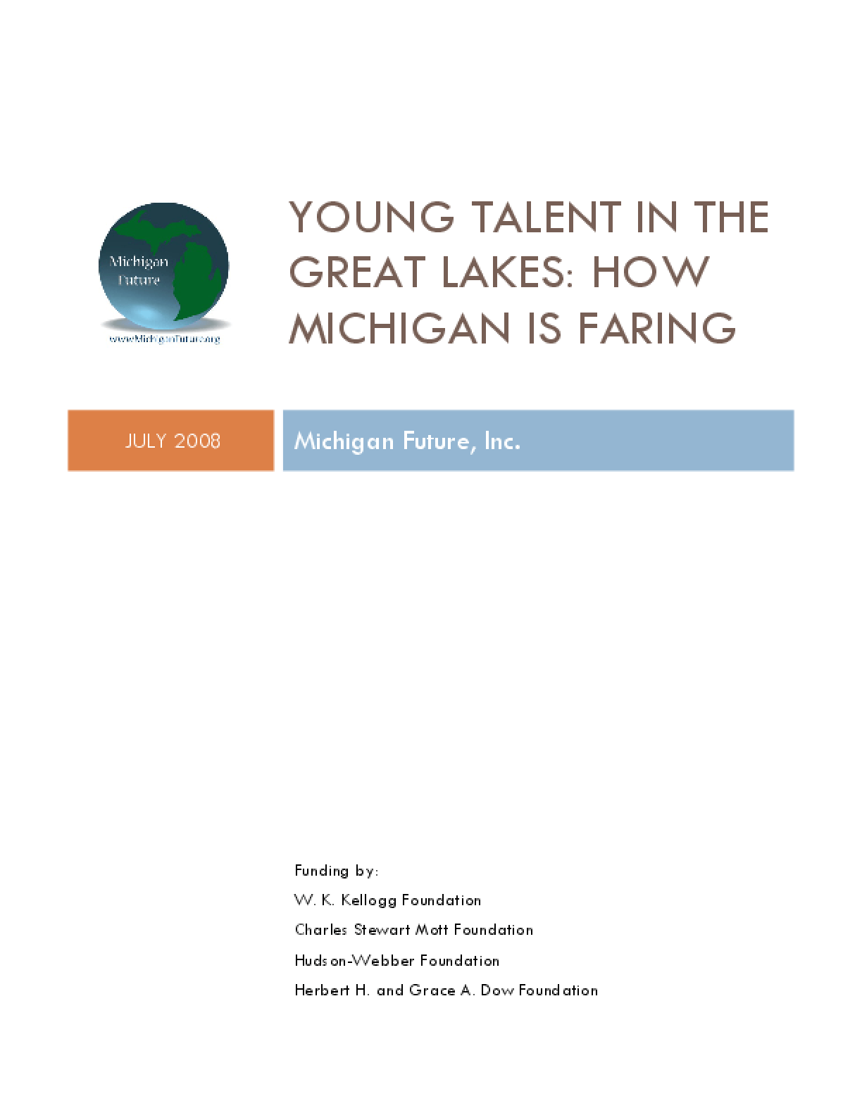 Young Talent in the Great Lakes: How Michigan Is Faring