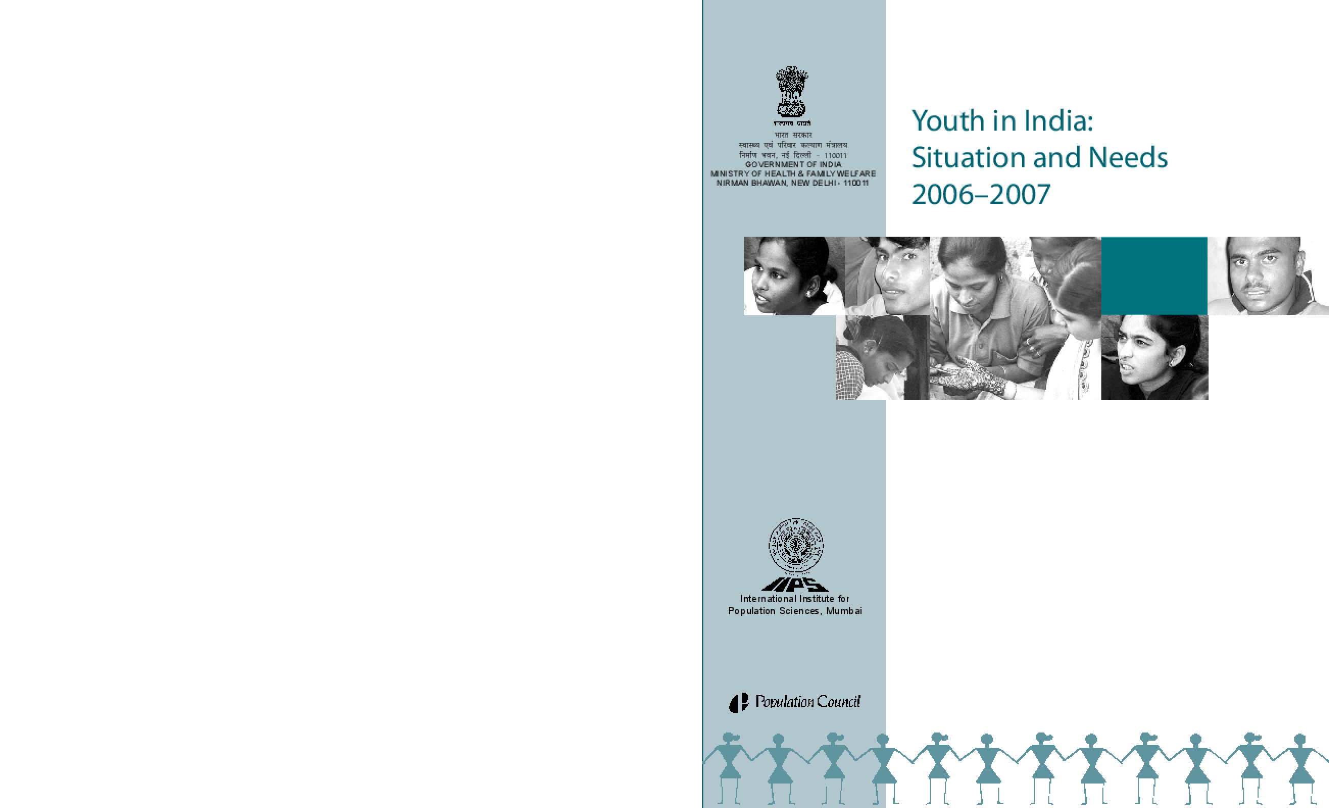 Youth in India: Situation and Needs Study 2006-2007