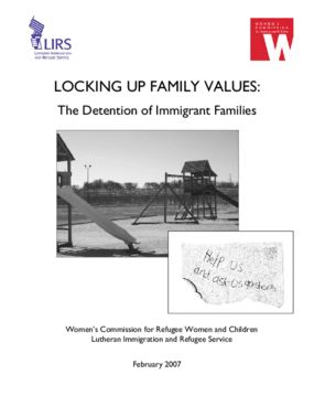 Locking Up Family Values: The Detention of Immigrant Families