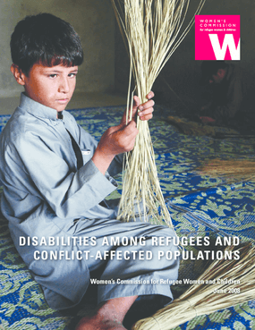 Disabilities among Refugees and Conflict-affected Populations