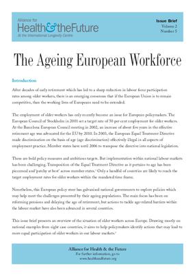 The Ageing European Workforce