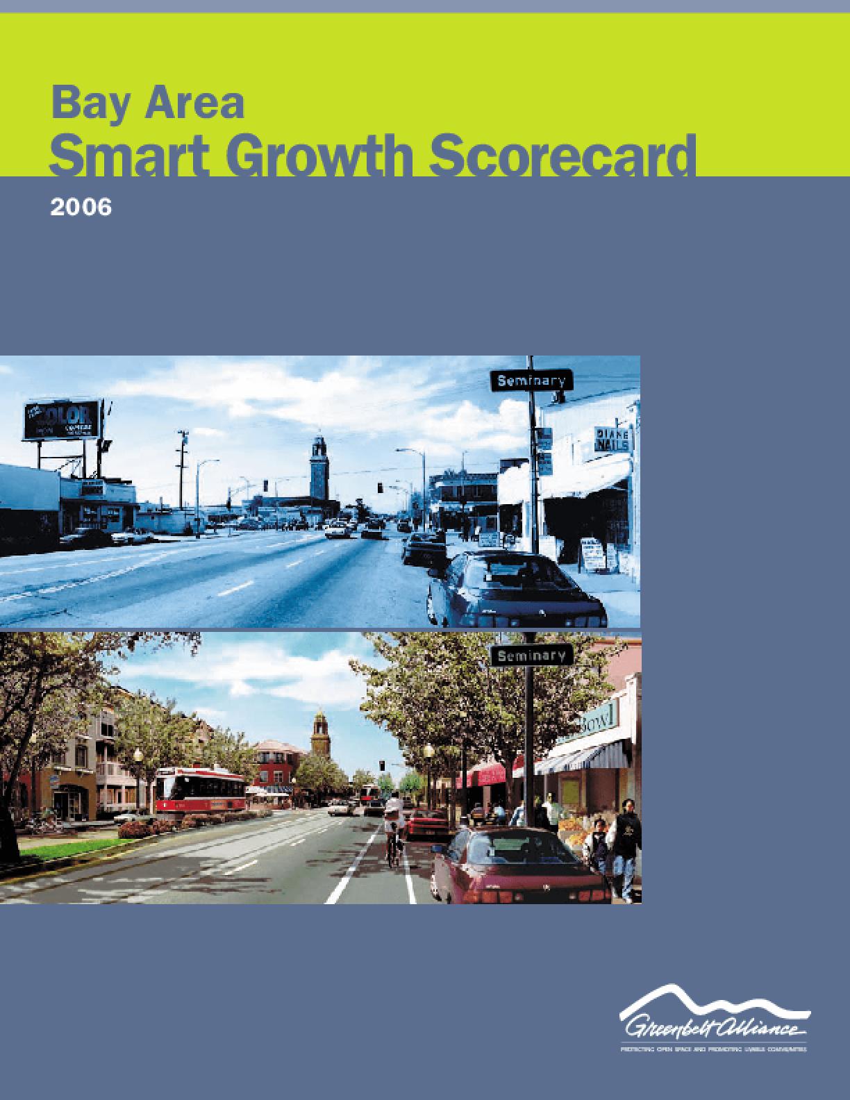 Bay Area Smart Growth Scorecard