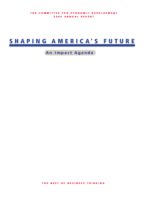 CED's 2000 Annual Report