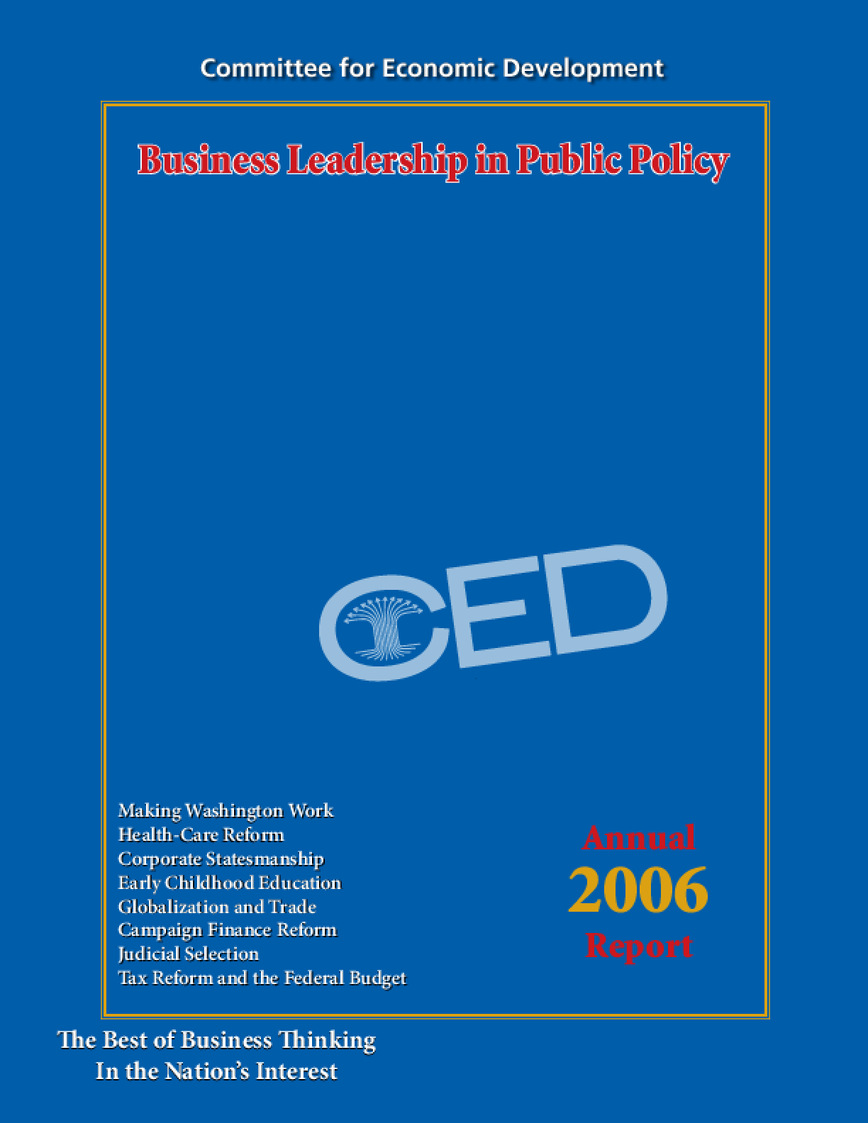 CED's 2006 Annual Report