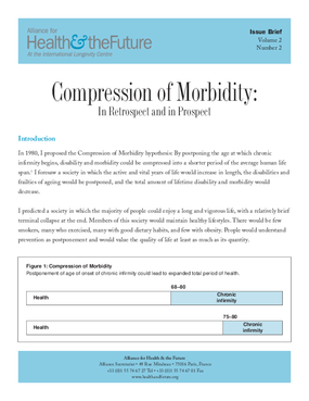 Compression of Morbidity: In Retrospect and in Prospect