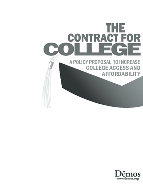 The Contract for College