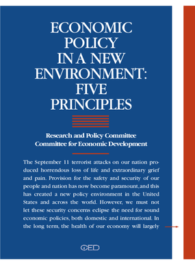 Economic Policy in a New Environment: Five Principles