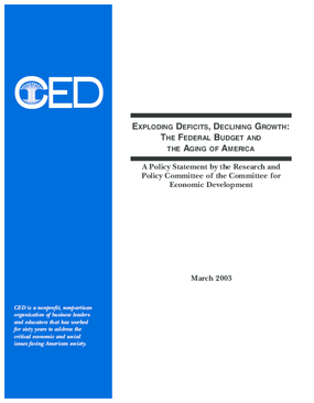 Exploding Deficits, Declining Growth: The Federal Budget and the Aging of America