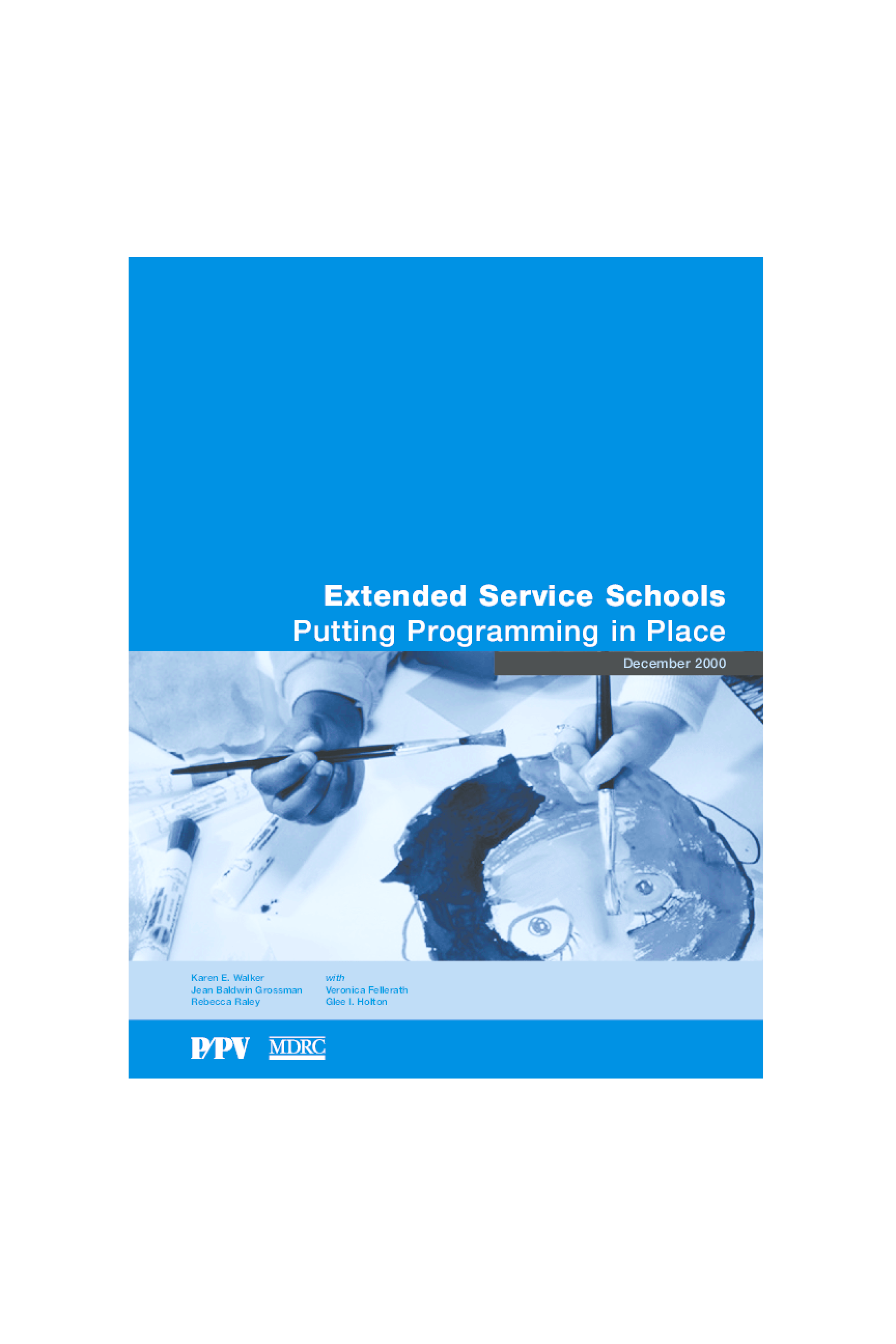 Extended-Service Schools: Putting Programming in Place
