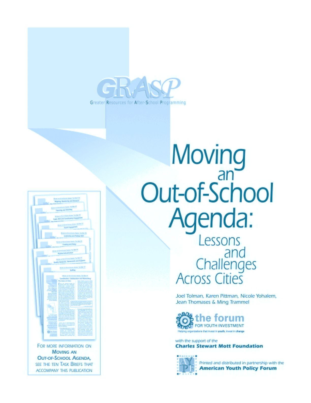 Moving an Out-of-School Agenda: Lessons and Challenges Across Cities