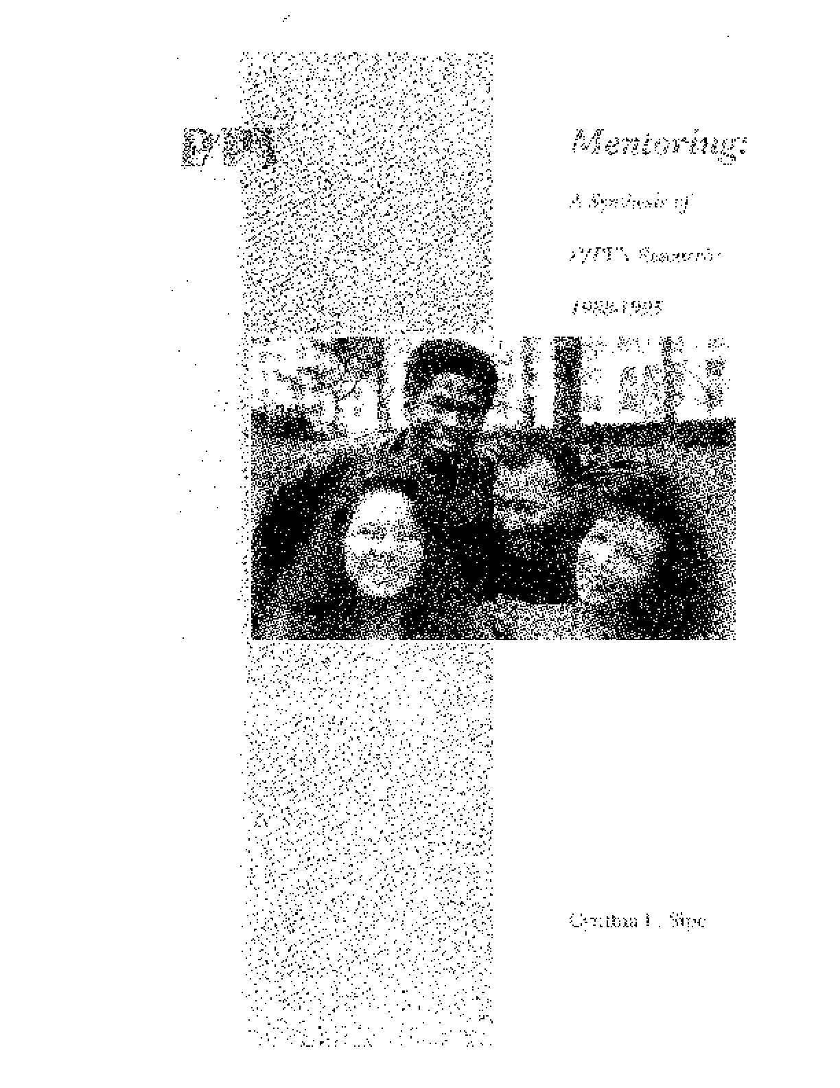 Mentoring: A Synthesis of P/PV's Research: 1988-1995