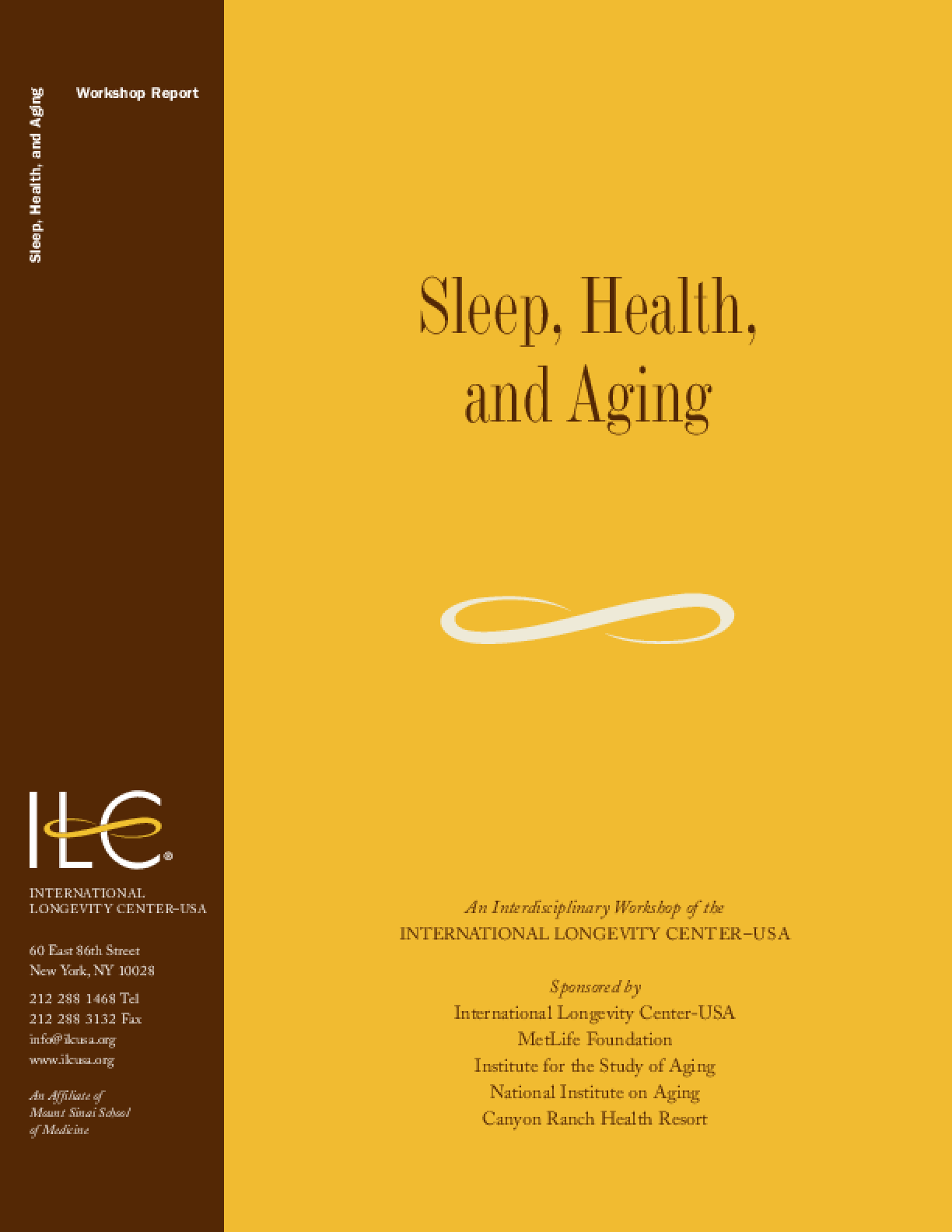 Sleep, Health, and Aging