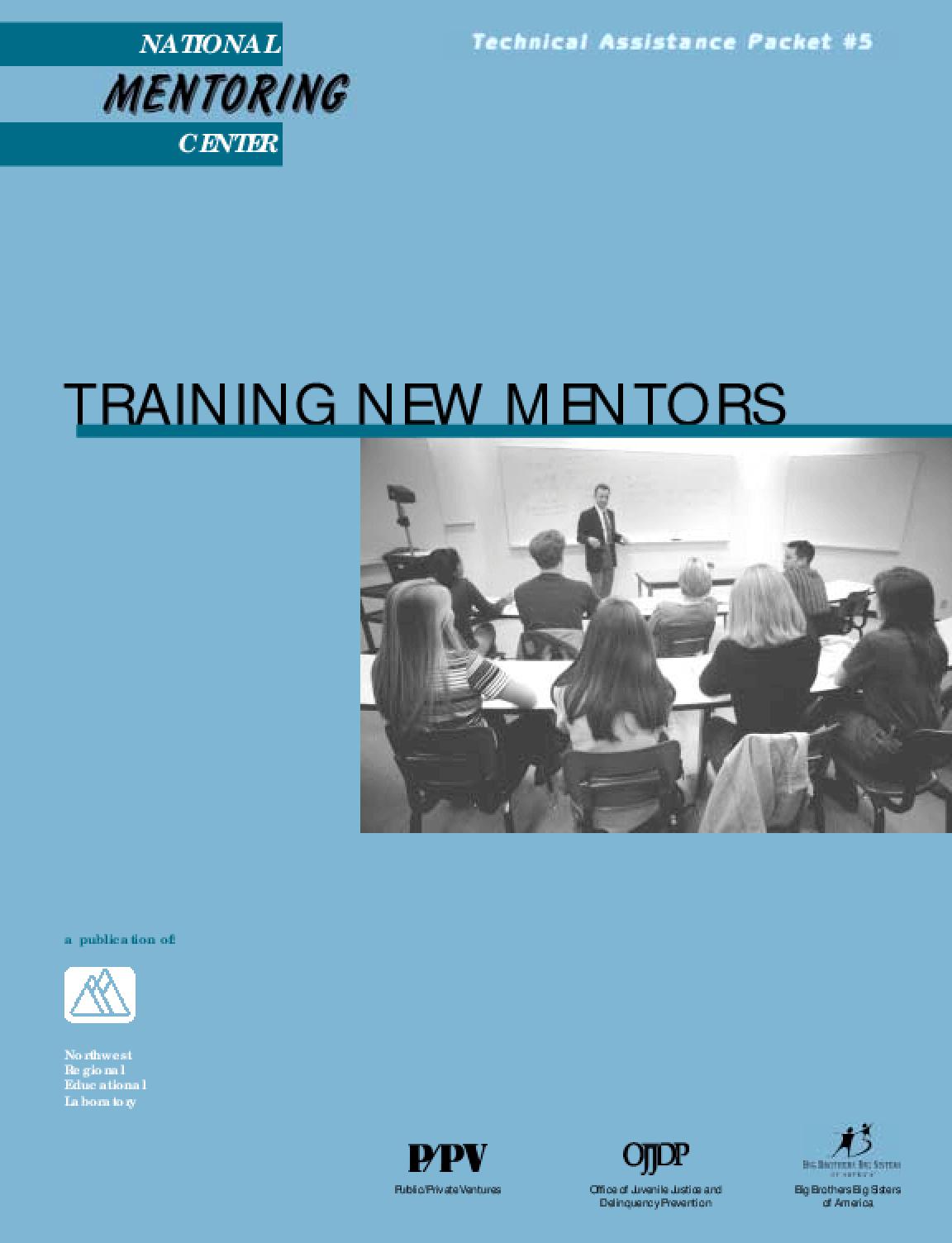 Training New Mentors