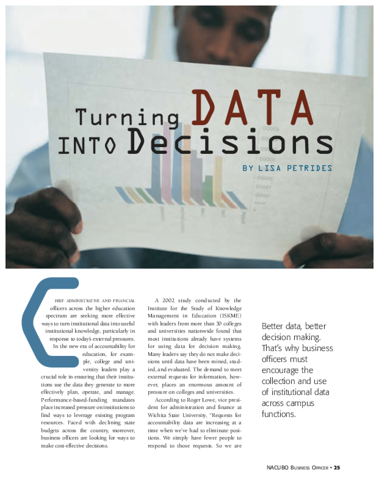 Turning Data into Decisions