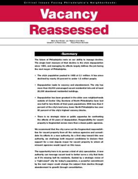 Vacancy Reassessed
