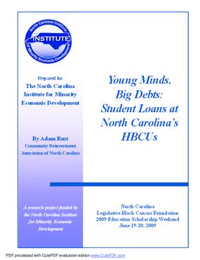 Young Minds, Big Debts: Student Loans at North Carolina's HBCUs