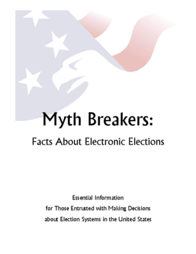 Myth Breakers: Facts About Electronic Elections