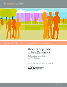 Different Approaches to Dual Enrollment: Understanding Program Features and Their Implications