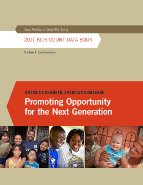 2011 KIDS COUNT Data Book