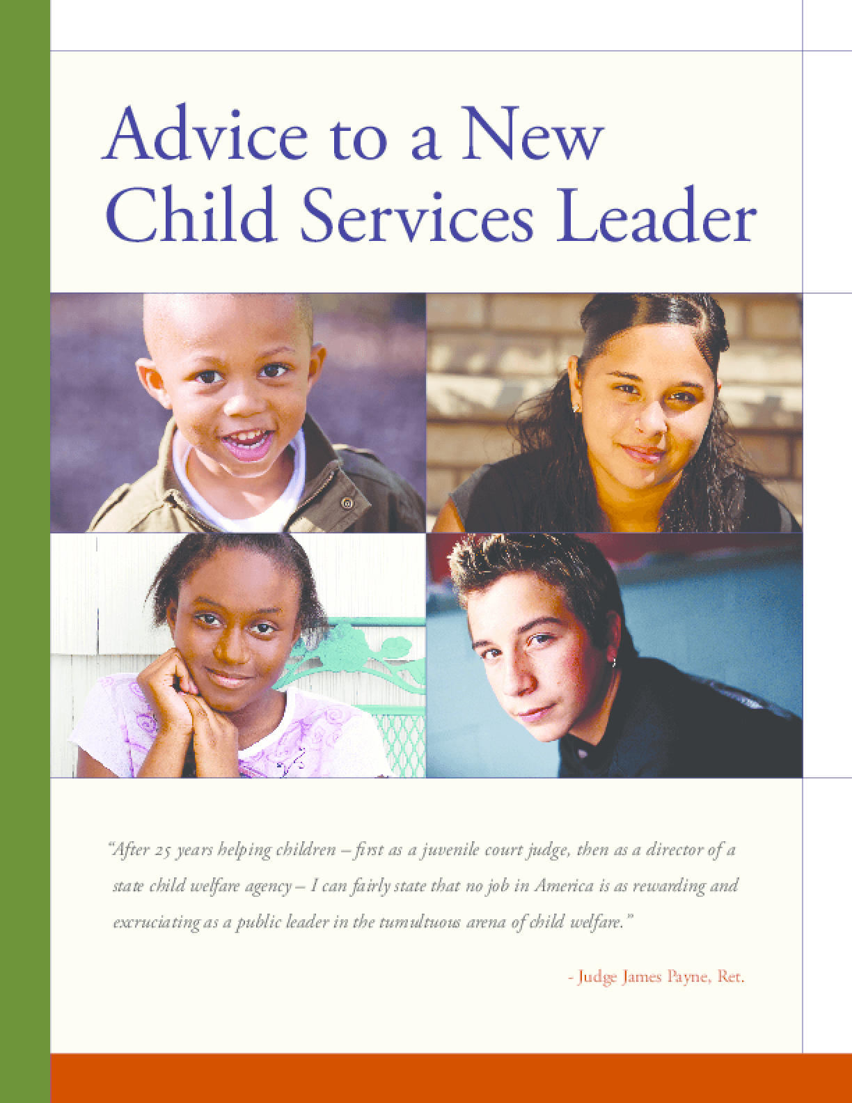 Advice to a New Child Services Leader