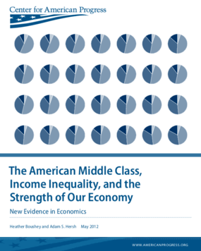 The American Middle Class, Income Inequality, and the Strength of Our Economy