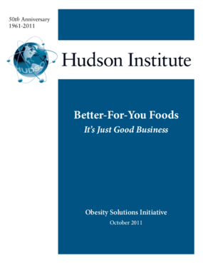 Better-For-You Foods: It's Just Good Business