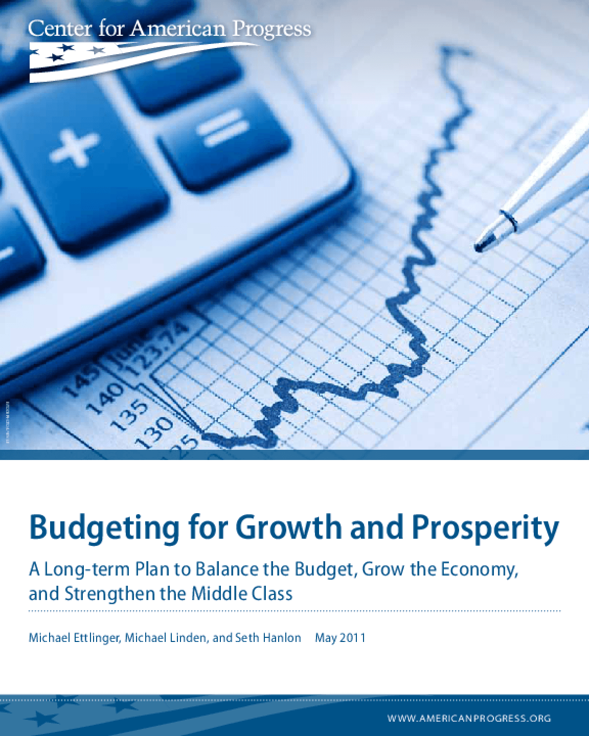 Budgeting for Growth and Prosperity: A Long-Term Plan to Balance the Budget, Grow the Economy, and Strengthen the Middle Class