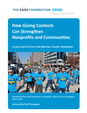 How Giving Contests Can Strengthen Nonprofits and Communities