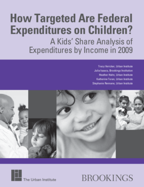 How Targeted Are Federal Expenditures on Children? A Kids' Share Analysis of Expenditures by Income in 2009