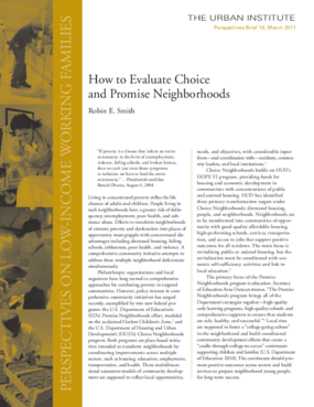 How to Evaluate Choice and Promise Neighborhoods