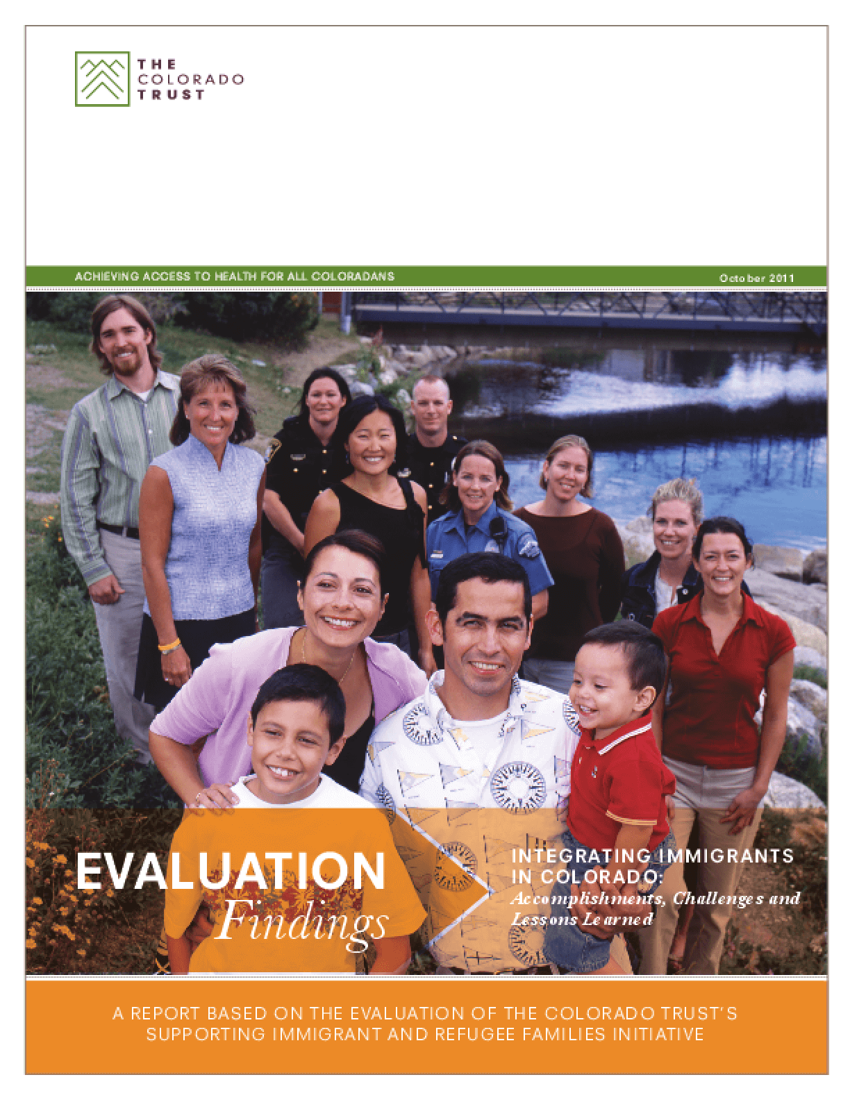 Integrating Immigrants in Colorado: Accomplishments, Challenges and Lessons Learned