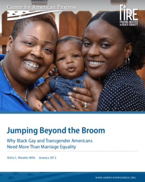 Jumping Beyond the Broom: Why Black Gay and Transgender Americans Need More Than Marriage Equality